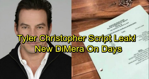 Days of Our Lives Spoilers: Tyler Christopher Script Leak Teases Character of Stefan, Playing New DiMera?