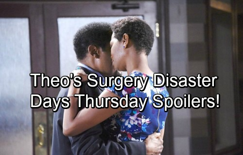 Days of Our Lives Spoilers: Thursday, November 16 - Kayla Delivers Horrible Theo News – Surgery Disaster