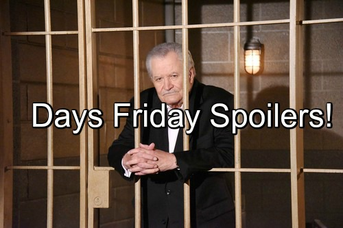 'Days of Our Lives' Spoilers: Victor in Hot Water Over Kidnapping, Evidence Mounts – Kate Says Nicole Stole Deimos