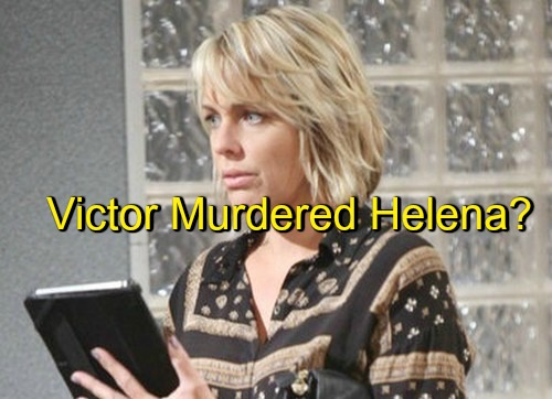 Days of Our Lives (DOOL) Spoilers: Deimos Stunned by Nicole's Resemblance to Dead Lover – Victor Murdered Helena