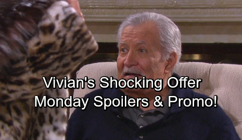 Days of Our Lives Spoilers: Monday, February 26 – Vivian Undresses for Victor – Kayla's Shocker – Hope and Rafe Marry
