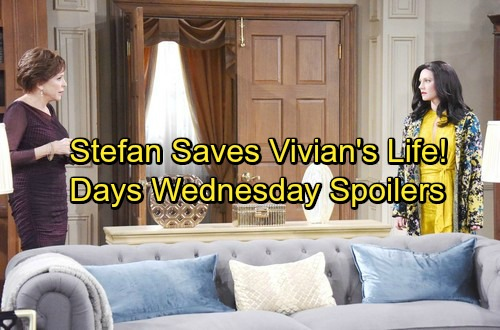 Days of Our Lives Spoilers: Wednesday, February 28 – Stefan Saves Vivian From Gabby – Valerie and Eli's Battle