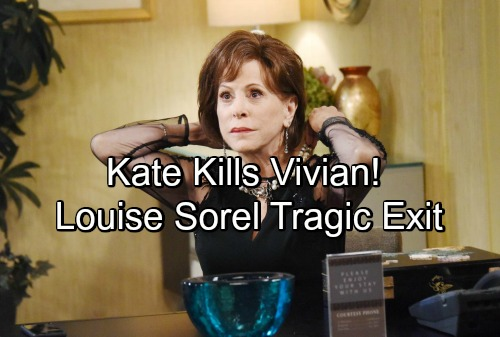 Days of Our Lives Spoilers: Vivian's Death Rocks Salem – Kate's Wrath Brings Grim Fate for Fierce Enemy