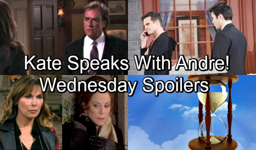Days of Our Lives Spoilers: Wednesday, May 23 – Kate's Encounter with Andre – Vivian's Return Bombshell – Leo Betrays Sonny