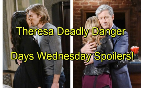 Days of Our Lives Spoilers: Shane Arrives with a Deadly Warning for Theresa – Deimos Demands Answers from Chloe's Mom, Nancy