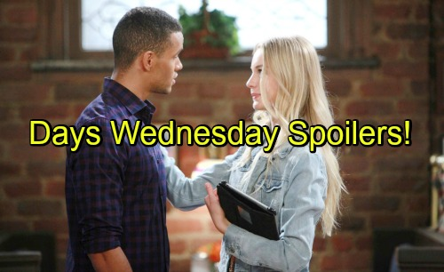 Days of Our Lives Spoilers: Hattie Comes to Hope's Rescue – Adrienne's Alarming Health Crisis – Theo and Claire Heat Things Up