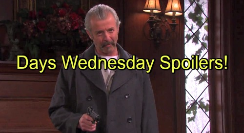 Days Of Our Lives Spoilers Xander Traps Nicole Clyde Walks Straight Into Setup