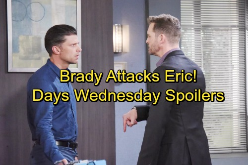 Days of Our Lives Spoilers: Wednesday, September 20 - Raging Lucas Rejects Intervention – Brady's Outburst Stuns Eric