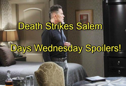 Days of Our Lives (DOOL) Spoilers: Death Rocks Salem – Eduardo and Adriana Bond Over Dying Gabi – Ciara Reels Over Aiden