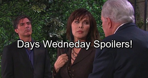 Days of Our Lives Spoilers: Deimos and Victor Scheme Against Kidnapper Kate – Chad Repairs DiMera Empire – Prison Plot Brewing