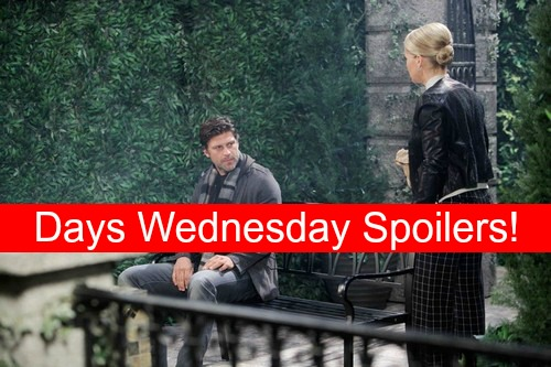 Days of Our Lives (DOOL) Spoilers: Eric Confronts Jennifer About Painkillers – Chad's Business Deal