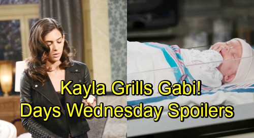 Days of Our Lives Spoilers: Wednesday, November 28 – Rafe Explodes – Kayla Rattles Gabi – Stefan Connects with Charlotte