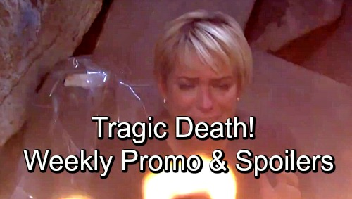 Days of Our Lives Spoilers: Week of October 22-26 – Fiery Missions, Jealous Rage and a Tragic Death