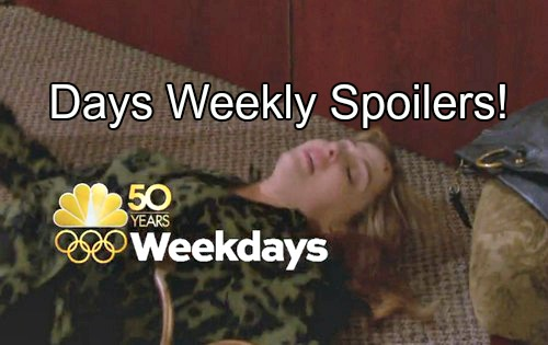 'Days of Our Lives' Spoilers: Week of July 25-29 – Violent Encounters, Huge Clues and Surprising Changes