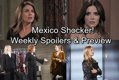 Days of Our Lives Spoilers: Week of April 30 - Chloe and Theresa Mexico Shocker – Stefan's Rape Charge - New Promo Video