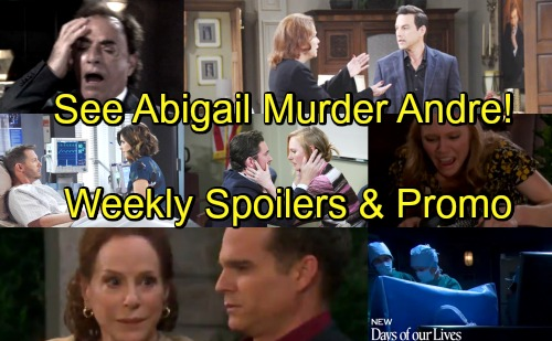 Days of Our Lives Spoilers: Week of May 7 – Vivian Suffers Fatal Gunshot Wound – Abigail Recalls Killing Andre - Watch Preview