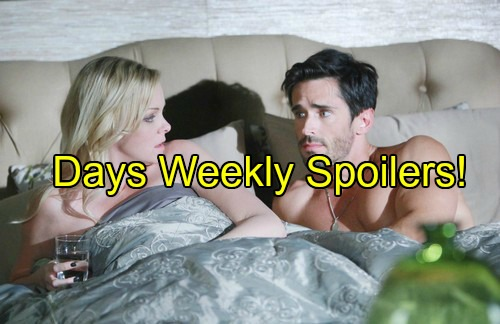 Days of Our Lives (DOOL) Spoilers: Week of May 23 – Rekindled Love, Explosive Confrontations and Life-changing Moments