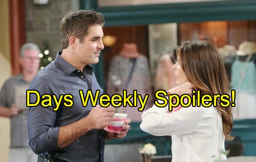 'Days of Our Lives' Spoilers: Week of August 1 - Devastating Death Leads to Bittersweet Return – Romance Sizzles in Salem