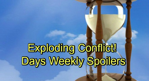 Days of Our Lives Spoilers: Week of December 3 - Big Bombshells, Suspicious Encounters and Exploding Conflict