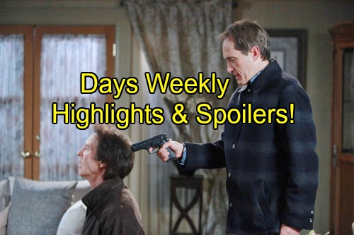 'Days of Our Lives' Spoilers: Orpheus Prepares to Kill John, Steve Saves the Day – Bomb Chaos Ends in Dead Orpheus