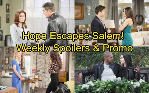 Days of Our Lives Spoilers: Week of March 5-9 – Hope's Breakup Escape –  Eli's Cheating Shocks Gabi – Ciara Clobbers Claire