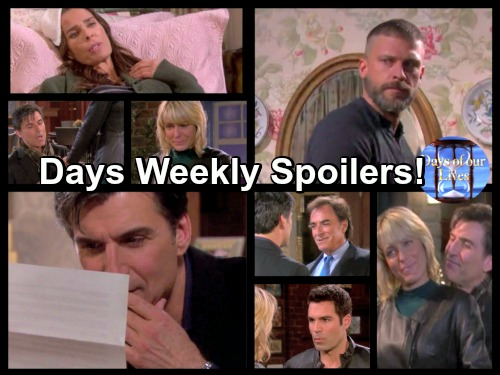 Days of Our Lives Spoilers: Week of January 16 – Growing Fears, Heated Battles and Shooting Shockers
