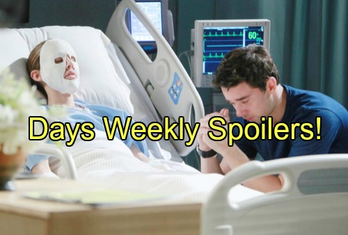 Days of Our Lives (DOOL) Spoilers: Week of June 13 – Hostage Shooting - Fire Tragedy and Arrests