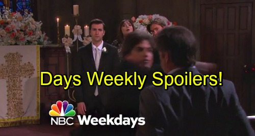 Days of Our Lives Spoilers: Week of November 21 – Blooming Love, Shocking Secrets and a Dangerous Investigation
