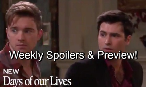 Days of Our Lives Spoilers: Week of July 2 Preview Video – Will Helps Sonny Get Rid of Leo's Dead Body