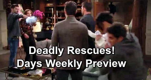 Days of Our Lives Spoilers: Week of April 15 Preview – Deadly Rescues, Medical Nightmares and Marriage Mayhem