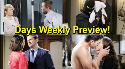 Days of Our Lives Spoilers: Week of April 22 Preview – Raging Jealousy, Big Returns and a Kidnapping Crisis