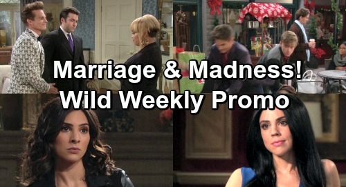 Days of Our Lives Spoilers: Hot Weekly Preview December 10-14 – Will Punches Leo, Sonny Ties the Knot – Abigail Destroys Gabi