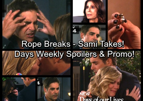 Days of Our Lives Spoilers: Week of November 27 - Bo's Memory Haunts Hope, Rope Wedding Off – Sami and Rafe Hook Up