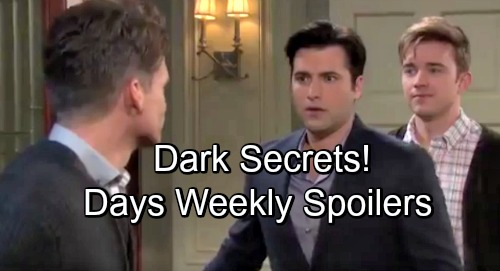 Days of Our Lives Spoilers: Week of November 26 – Dark Secrets, Risky Proposals and Twisted Partnerships