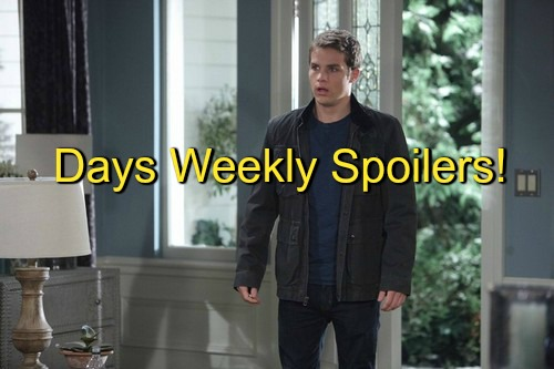 Days of Our Lives (DOOL) Spoilers: Week of February 1 - Steve Sleeps with Ava, Learns Their Child is Dead?