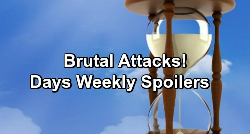 Days of Our Lives Spoilers: Week of December 10 – Brutal Attacks, Dropped Bombs and Tough Goodbyes