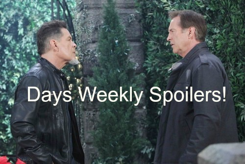 Days of Our Lives (DOOL) Spoilers: Double Murder Week - One Threatened, One Committed