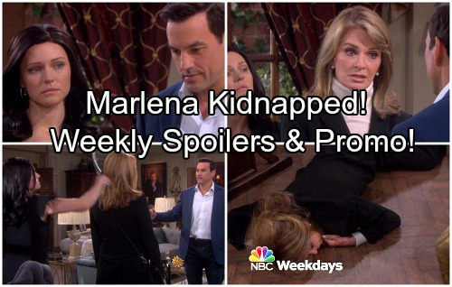 Days of Our Lives Spoilers: Week of April 9 - Gabby Bashes Marlena Unconscious, Stefan Takes a Hostage – New Promo Video