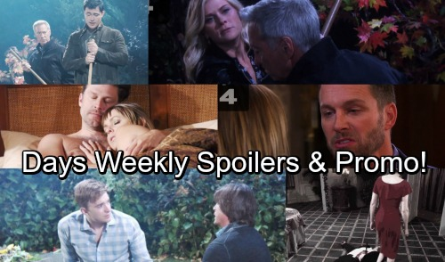 Days of Our Lives Spoilers: Week of October 9 - Brady's Ultimatum, Deimos' Murder Haunts Nicole – Sami Explodes At Will's Grave