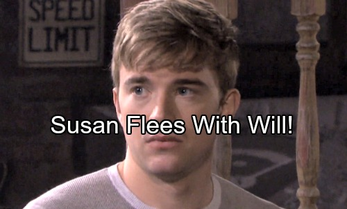 Days of Our Lives Spoilers: Susan Begs Will to Flee with Her as Walls Close In – Confused Will Caught Between Two Worlds