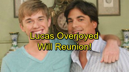 Days of Our Lives Spoilers: Lucas Overjoyed by Will Reunion – Finally Some Hope for Brokenhearted Drunk