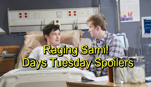 Days of Our Lives Spoilers: Tuesday, October 2 – Raging Sami Confronts Hattie – John and Marlena's Happy Reunion – Will's Grand Gesture