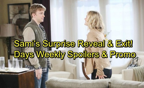 Days of Our Lives Spoilers: Week of December 11 - Sami's Revelation Stuns Will – Loved Ones Gather for Sami's Big Sendoff