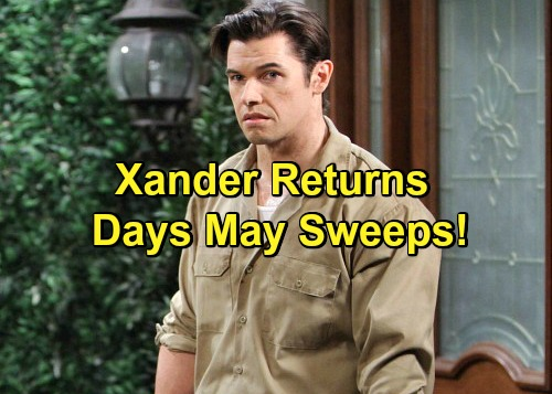 Days of Our Lives Spoilers: Xander's Back for More Terror – Dark Kiriakis Wreaks Havoc During May Sweeps