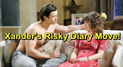 Days of Our Lives Spoilers: Xander Plays the Hero, Hands Over Dr. Rolf's Diary to Impress Sarah – Risky Move Brings Questions