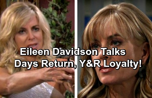 Days of Our Lives Spoilers: Eileen Davidson Reveals The Young and the Restless Loyalty and DOOL Return Agenda