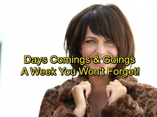 Days of Our Lives Spoilers: Casting News – Comings and Goings – Huge Returns and Goodbye to a Fan Favorite