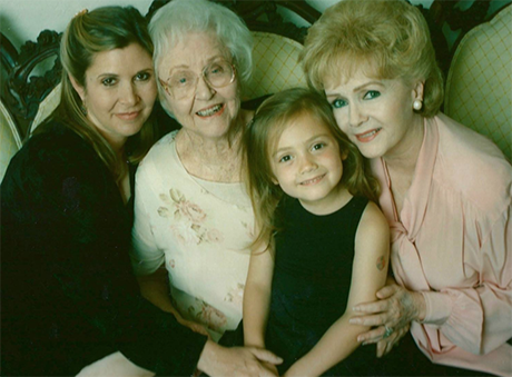 Debbie Reynolds DEAD: Suffers Serious Stroke and Dies Day After Daughter Carrie Fisher's Death