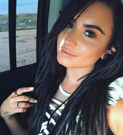 Demi Lovato's Country Music Career Over - Brad Paisley Duet Dumped From Album After Bad Reviews