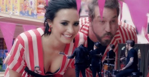 Watch: Demi Lovato Meets Fall Out Boy in Spoof Video